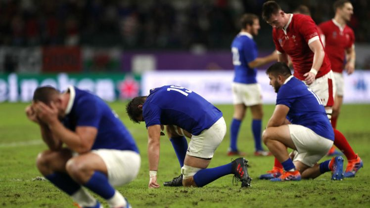France vs Wales in Rugby World Cup 2019