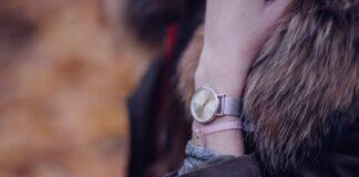 Wrist Watch wearing Woman