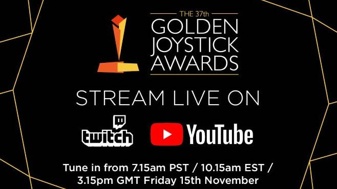 Golden Joystick Awards 2019 Schedule
