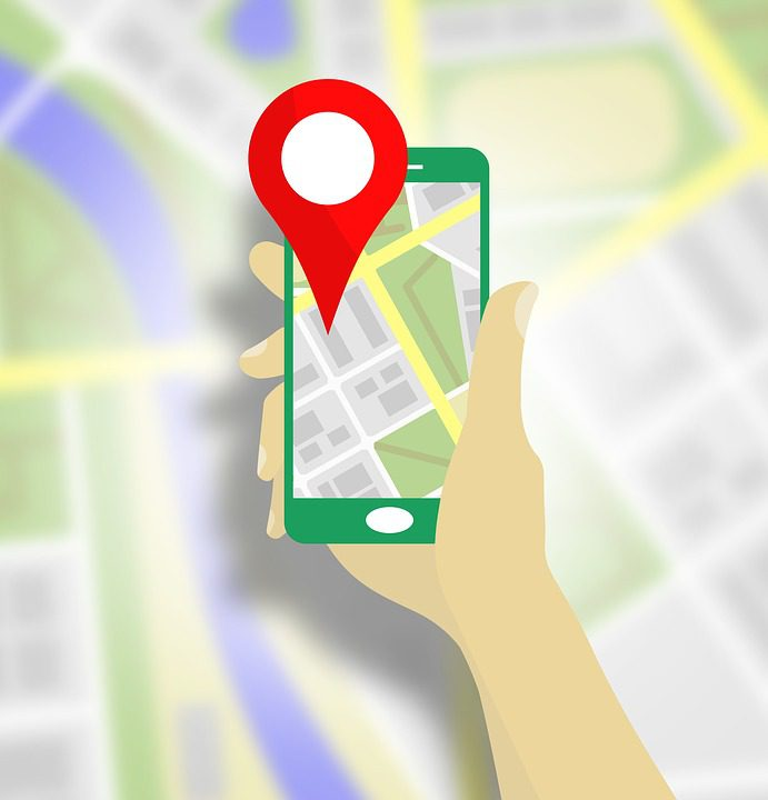 Navigation of Google Maps