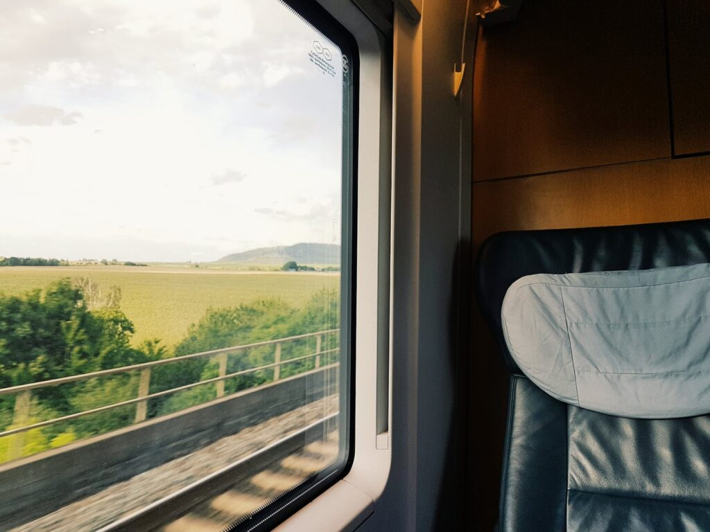 Daniel Frese train