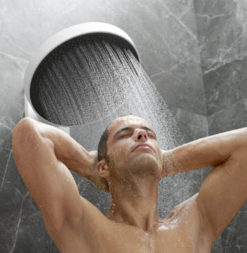 Daily winter shower