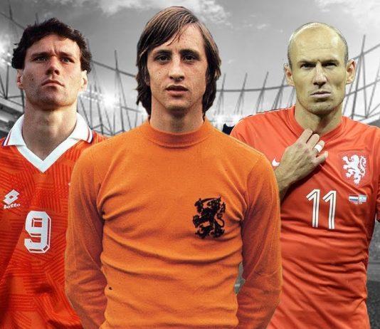 Famous Dutch soccer players