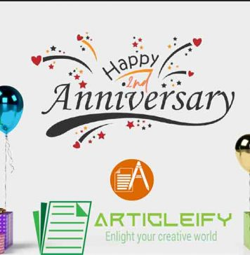 Articleify second anniversary