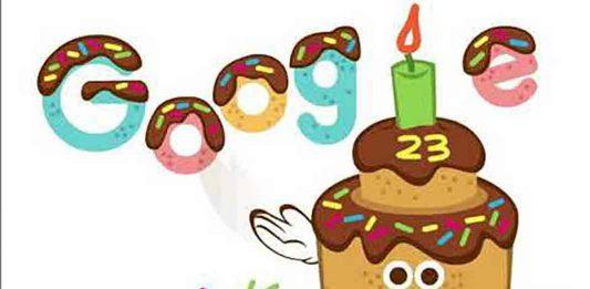 Google 23rd birthday